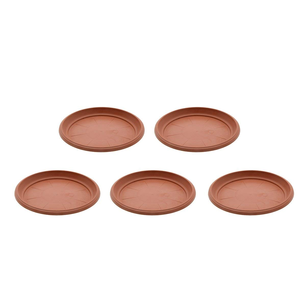Get Quotations Saim Coffee Plastic Round Saucers Plant Pot Potted Saucer Clay Flower