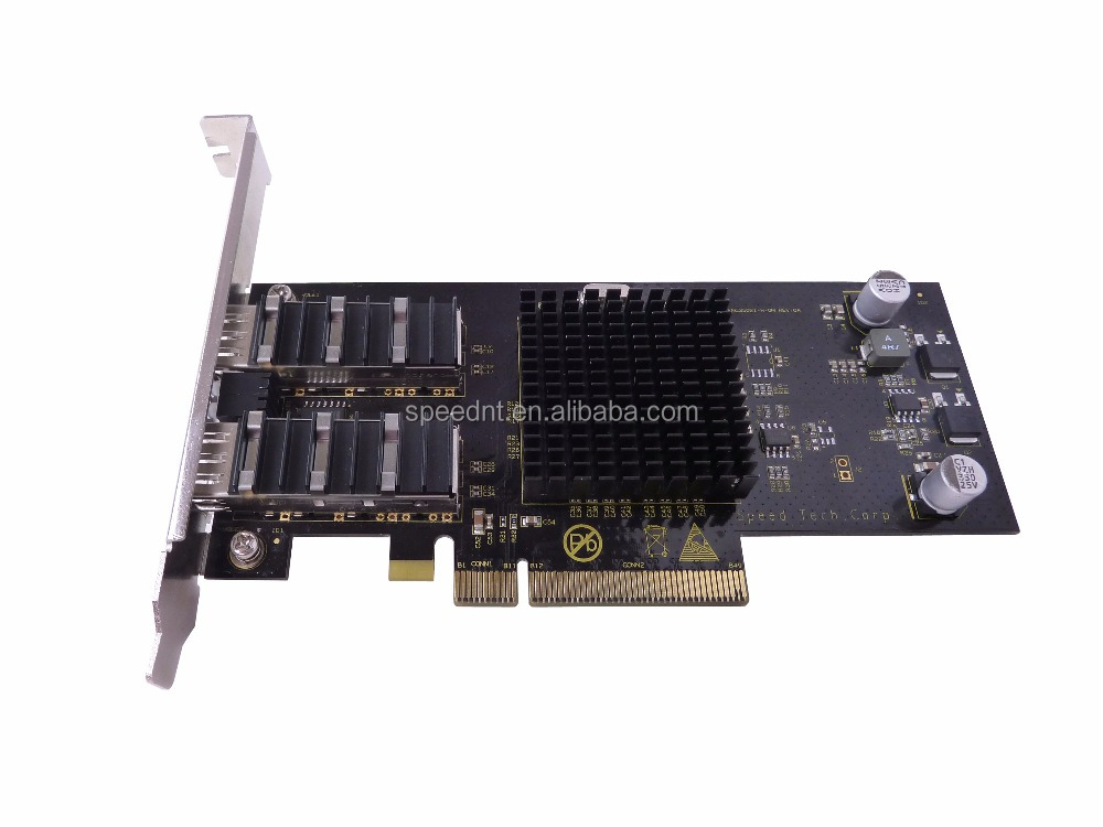 Top quality Intel 82599 10G 10Gbps Dual Port PCI-E NIC Ethernet Server Adapter lan network card