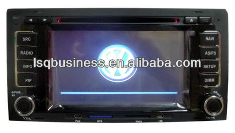 Car DVD player for VW Touareg with Bluetooth Iphone MP3 VCD MP4 player radio fm,ST-7090