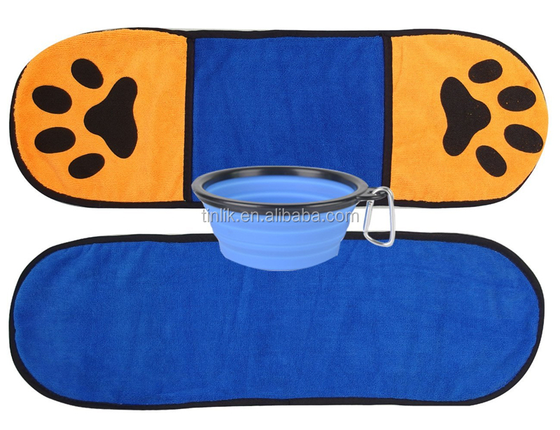 Durable Fast Drying Ultra Absorbent Microfiber Pet Drying Towel