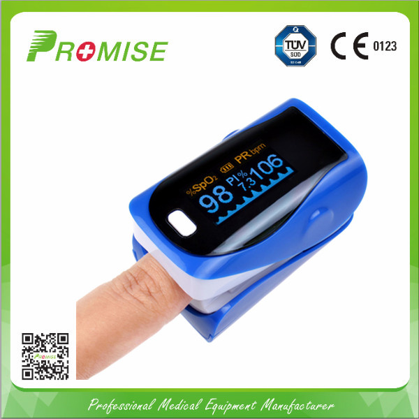 Pulse oximeter simultaneous display parameters SpO2 and Pulse rate