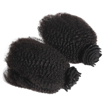 10a,11a curly unprocessed virgin human 4C hair extension clip for black women