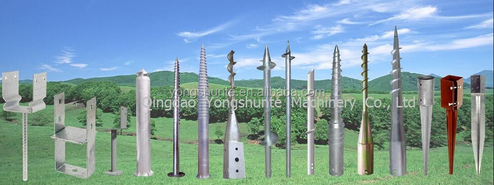HDG Screw Ground Anchor earth ground anchor