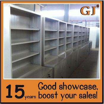 Durable Metal/stainless Steel Medical Cabinet Retail Pharmacy Shelf Rack