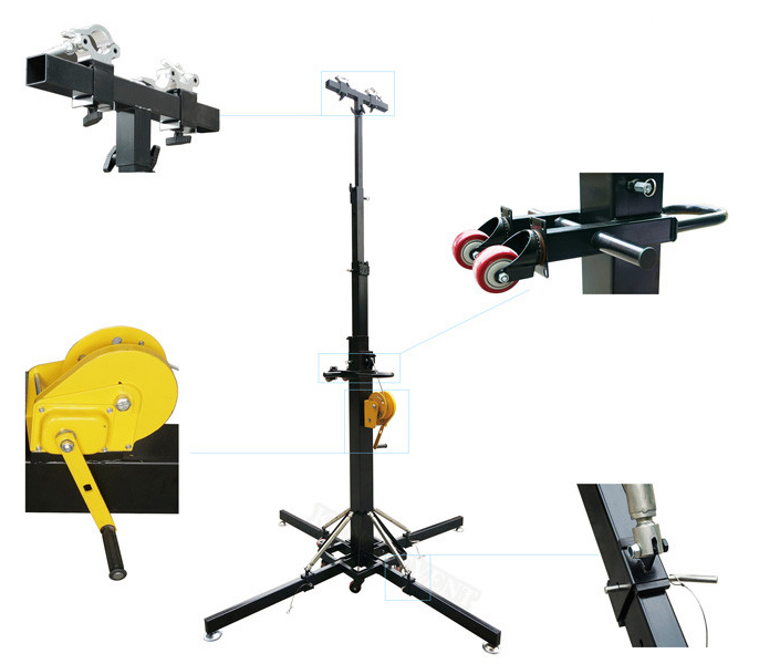 Factory Price on Aluminum Truss Stand Dj Lighting Stand