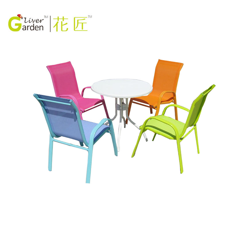 Colorful Outdoor Stackable Metal Kids Sling Chair   Buy Kids Sling Chair,Stackable  Sling Chair,Metal Sling Chair Product On Alibaba.com