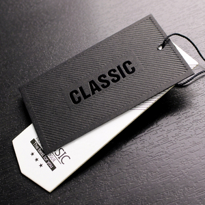 Luxury Custom cheap Clothing Tags Hang label Garment hang tags