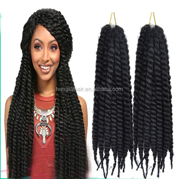 Most Por 75g Pack Havana Mambotwist Crochet 2x Braid Hair Synthetic Ombre Marley Twist