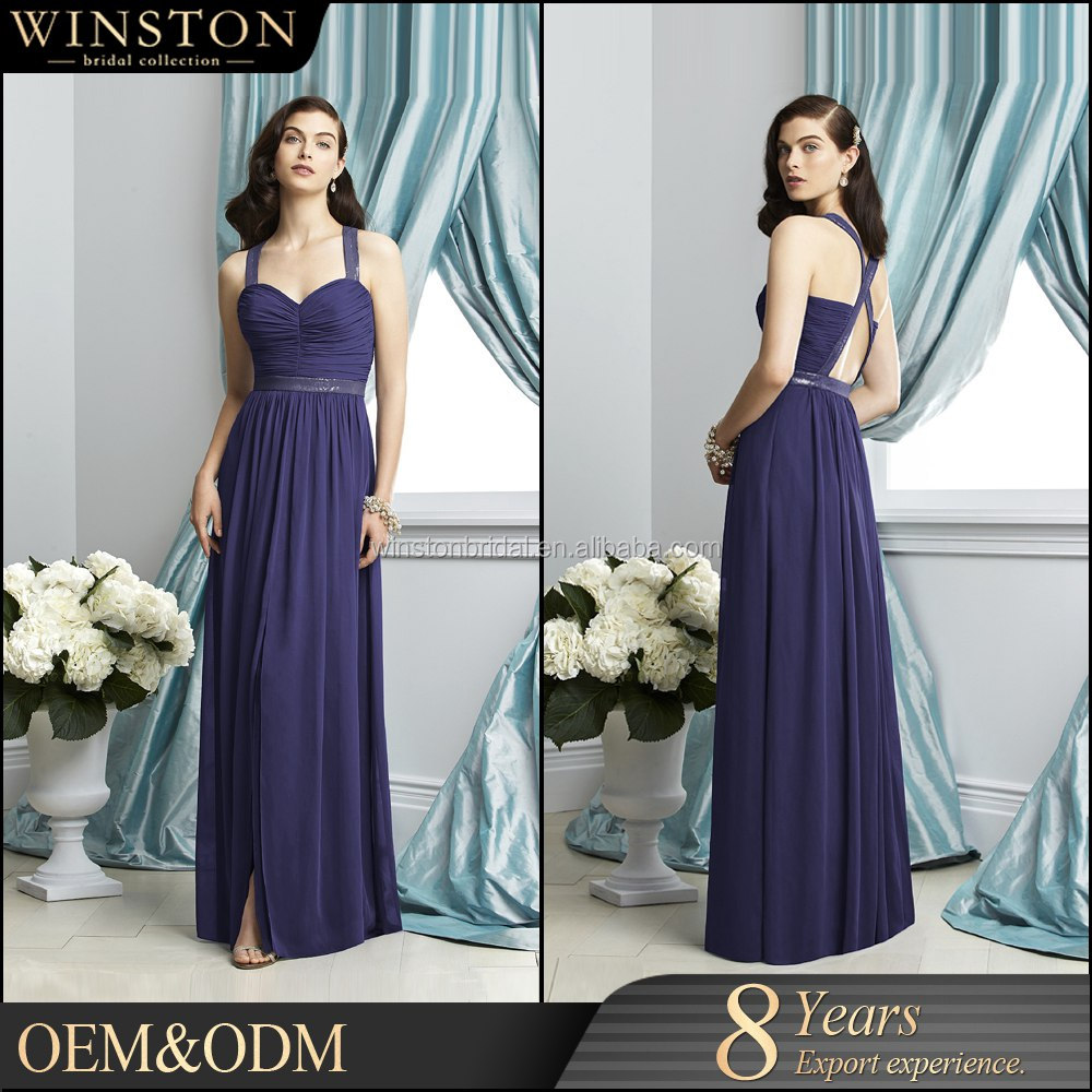 OEM factory sexy revealing evening dress