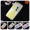for iphone 6 3d case Diamond 5 colors Pretty fashion 2015 rhinestone soft tpu color case back Cover