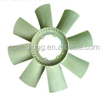 for mercedes benz truck spare parts 0032050006 fan blade for Mercedes Benz Cab 641 649