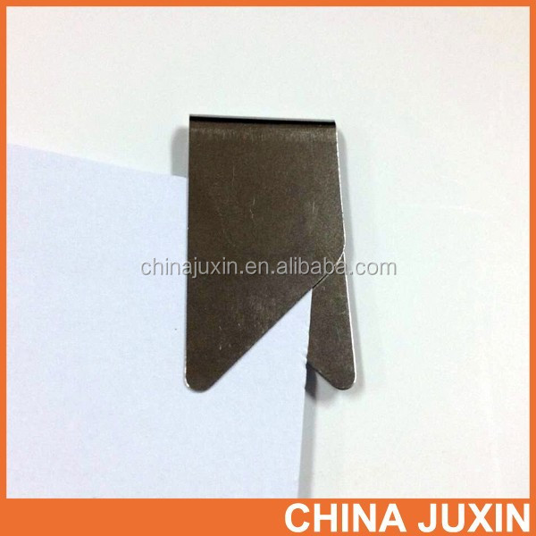 Hot Selling Custom Logo Stainless Steel Paper Clips Office Binding Supplies