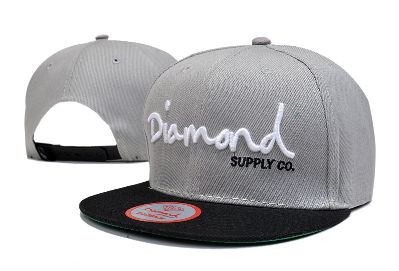 Get Quotations · Black strip bone male snapback gray caps brand diamond  supply co baseball cap men summer style 5a45619e911
