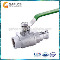 Q11F 2PC Stainless Steel Quick install ss304 ball valve