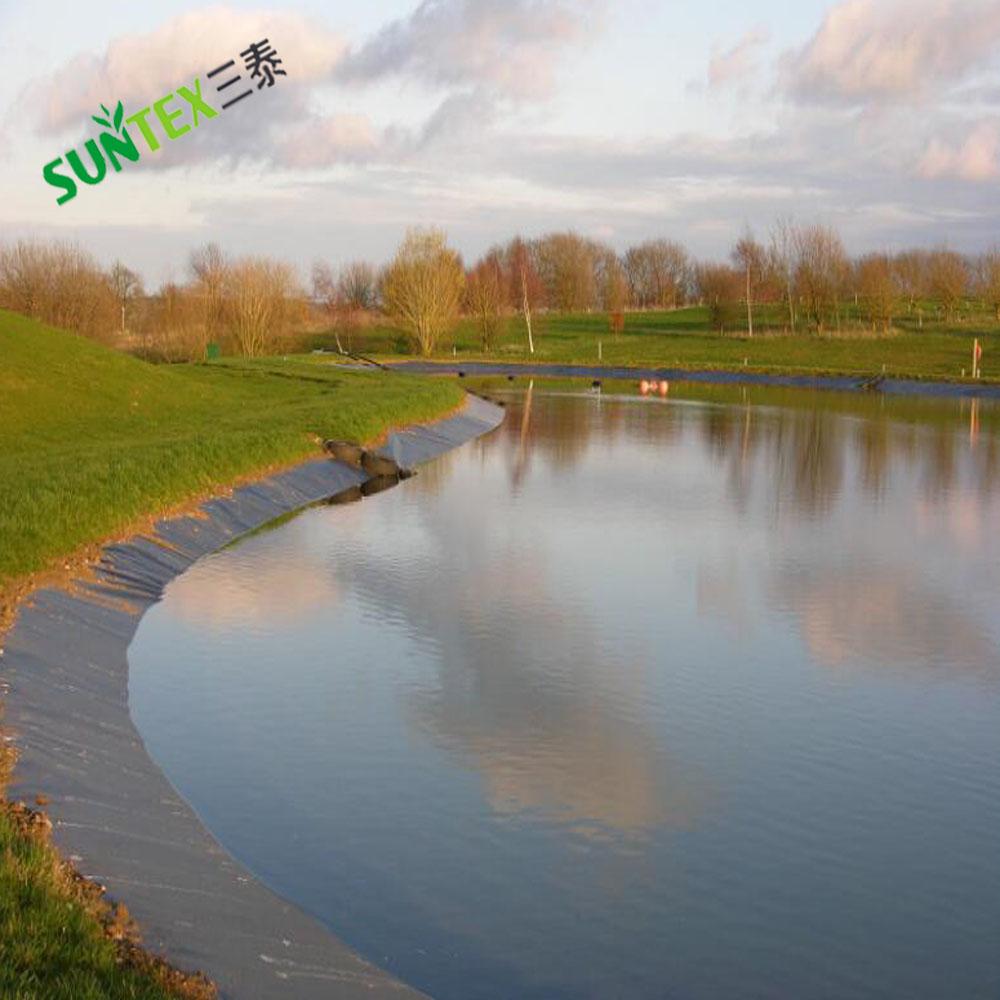 Плетеная армированная полиэтиленовая водонепроницаемая мембрана, УФ-защита RPE вкладыши для пруда, пищевая рыба и креветки фермерские вкладыши