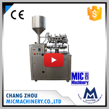 Mic-L30 Manual Operation Aluminum Tube Paste Filler With Sealing Machine