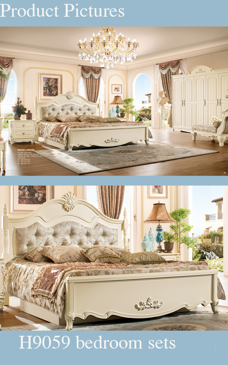 Exceptional High End Classy Country Style Solid Wood Used Bedroom Furniture Awesome Design