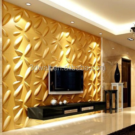 Home Interior Decoration European Classic Wall Panel 3d Textured ...