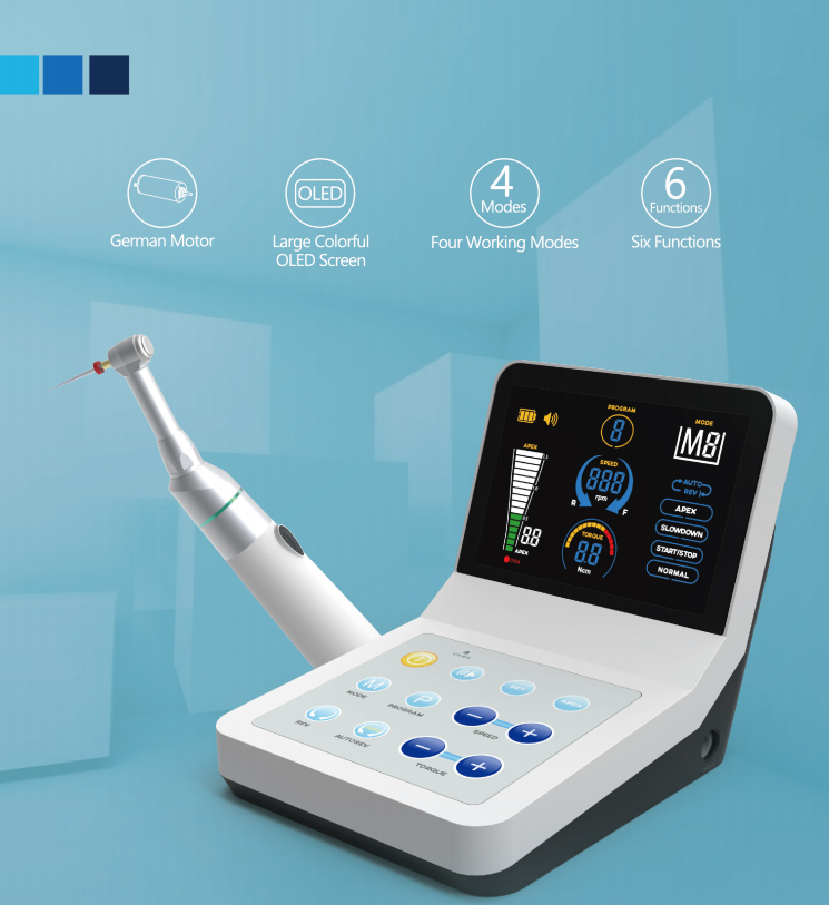 2018 R-Smart Plus Dental Endo Motor Root Canal Instruments with Apex Locator