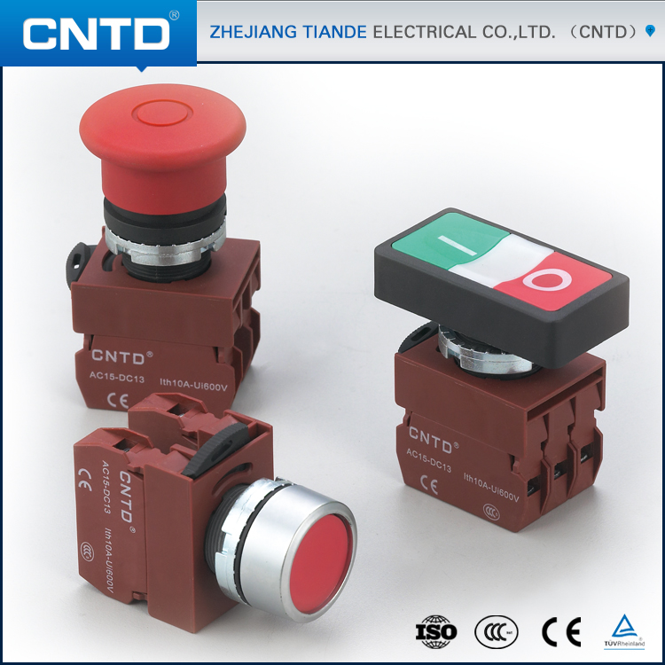 CNTD Latest Chinese Products Pulling Switch Mechanical Push Button Switch Iec 60947-5-1