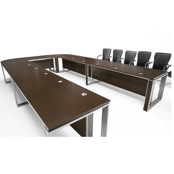 2017 top design melamine pannel luxury modular conference tables ...