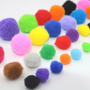 2018 Wholesale Multicolor Arts and Craft Assorted DIY Craft PomPoms