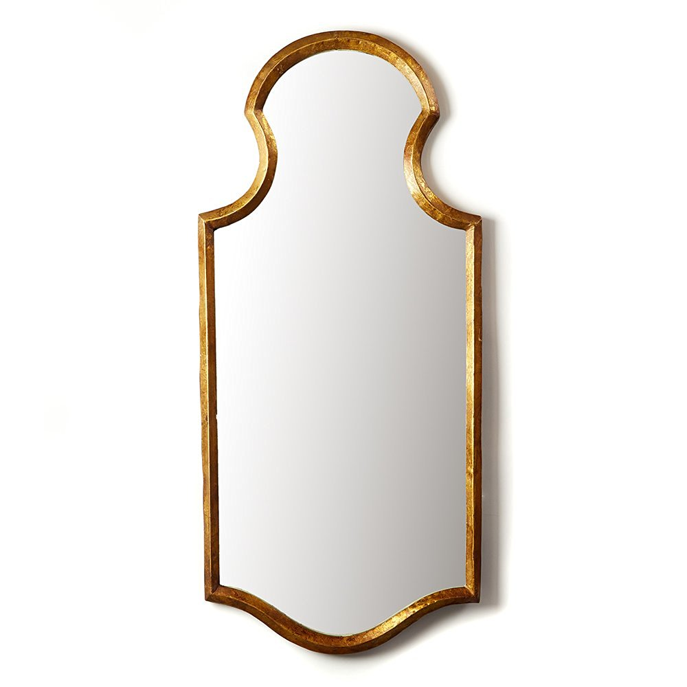 Two's Company Tozai Gold Wall Mirror