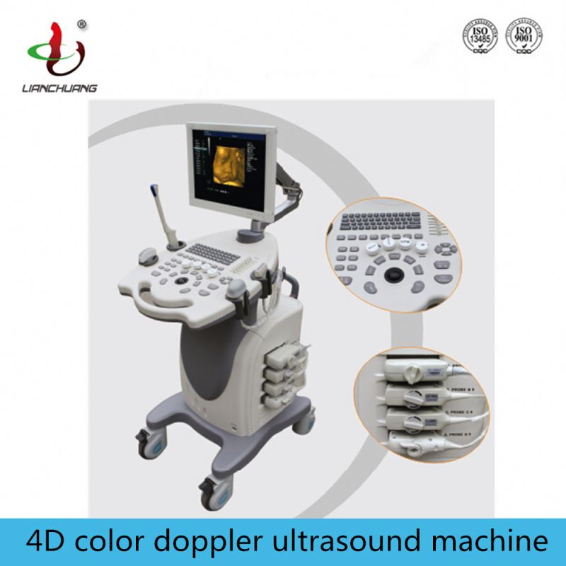 High performance used 4d color doppler ultrasound with video printer