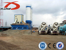 The most popular concrete batching plant HZS50