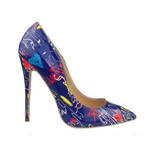 Big plus size35-42 coloful 2019 sexy pointed toe stiletto 11cm highTHIN heels pumps women girl female dress ladies casual shoes
