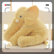 Hot sale soft Baby Kids Elephant Pillow Toys Plush Lumbar support Cushion