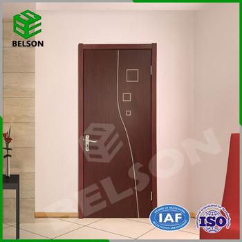 Simple Teak Wood Door Designs Modern Bedroom Door Design - Buy Modern  Bedroom Door Design,Bedroom Door Designs India,New Waterproof Wood Plastic  ...