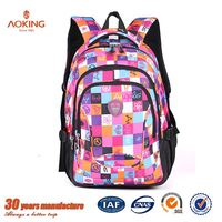 Nylon material teens China fashion book school bags for boys/.