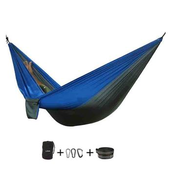Wholesale Luxury Double Nylon Outdoor Camping Hammock