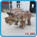 Amusement Park Coin Operated Walking Dinosaurs For Kids
