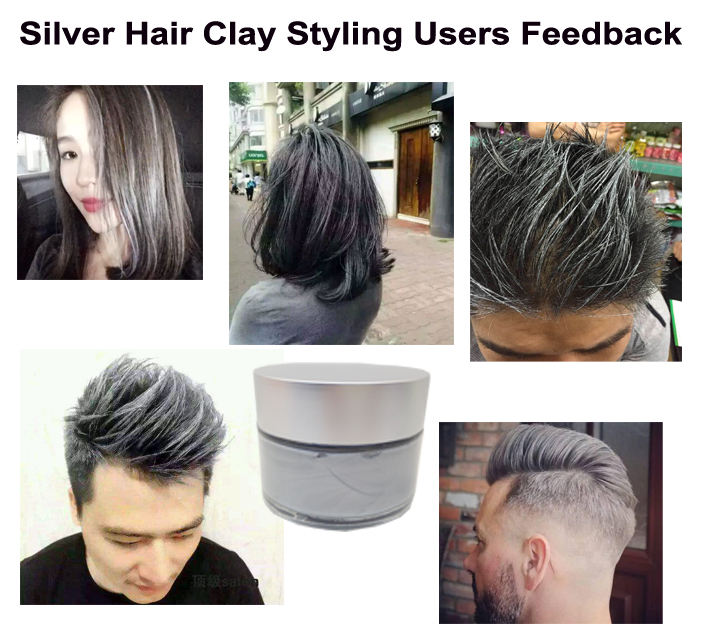 Hair Color Clay For Styling Man Women Buy Professional Hair Clay