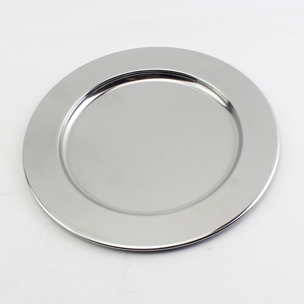 Wholesale stainless steel restaurant compartment dinner plates Made in China & Wholesale Stainless Steel Restaurant Compartment Dinner Plates Made ...
