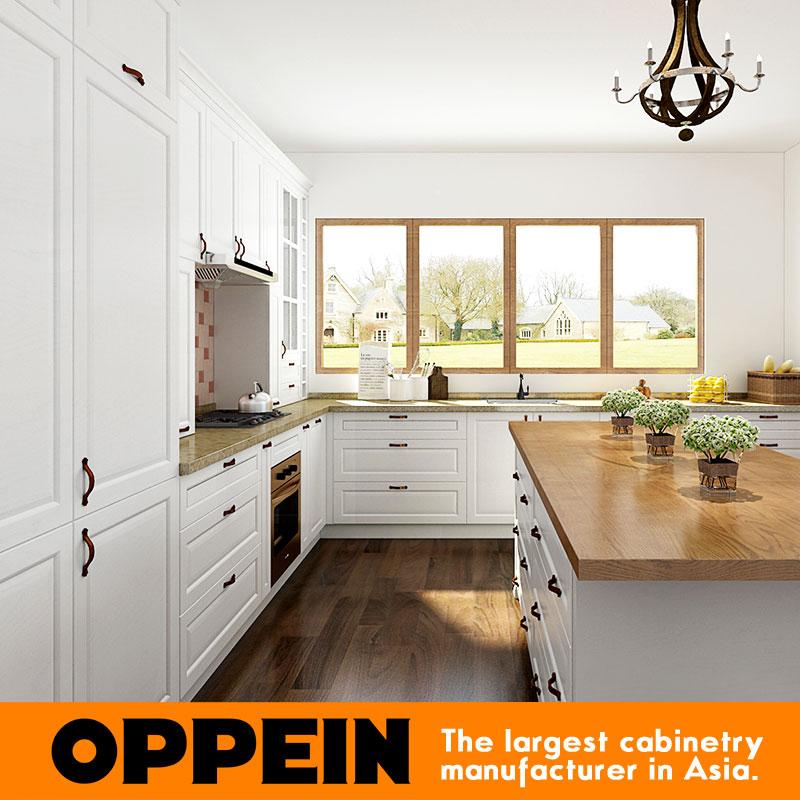 Oppein Kitchen Cabinet Pvc Finish Cabinets Interior Home Design ...