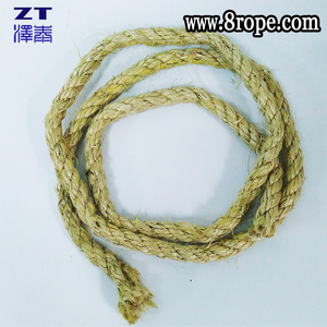 10mm Sisal rope / natural fiber rope / 3 strand twisted rope