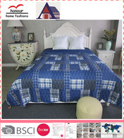 Patchwork double bedspreads and quilts coverlets for king size beds