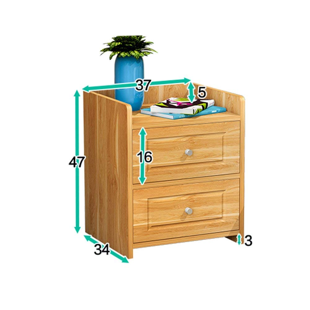 PM-Nightstands Bedside Cabinets Small Cabinets Storage Cabinets Bedside Lockers (Color : O)