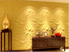 3D wall panel/wall paper bamboo plant fiber panels eco friendly