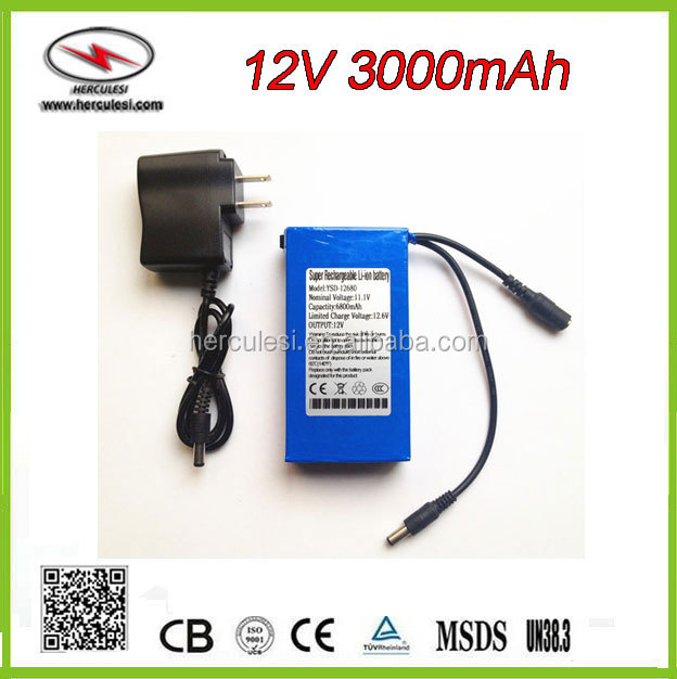 12.6V Power Adapter Charger 11.1V 1A f 12.6V 1A polymer lithium battery charger