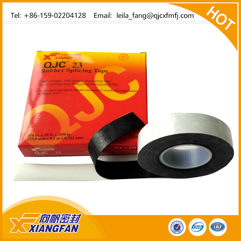 0.5mm*25mm*8m Rubber tape with competitive price