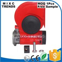 12V Air Horn Siren Speaker Comes With Air Pump Super Loud Auto Horn Whistle Snail Horn For Truck Car