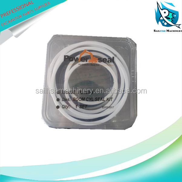 Hot sale good quality PC200-8 boom cylinder seal kit for KOMATSU excavator
