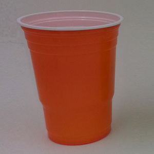 500ml PS color plastic party cup