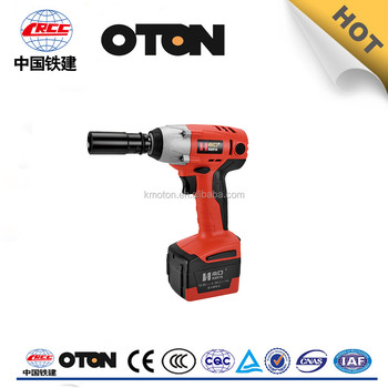 High Torque Dc18v Electric Impact Wrench For Cars