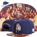 C S Color Christian Jesus Prayer Last Supper Praying Hands Baseball Strapback Hat Sports Hip Hop
