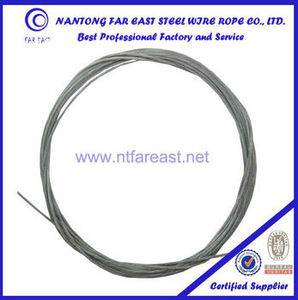 1*19 galvanized steel wire rope,used wire rope,Various cable